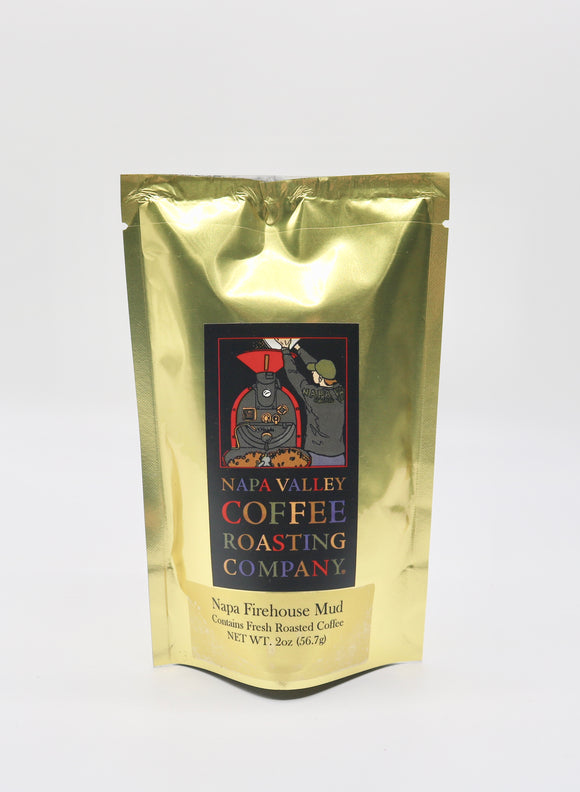 Napa Valley Coffee Roasting Co. 2 oz. Firehouse Mud Coffee