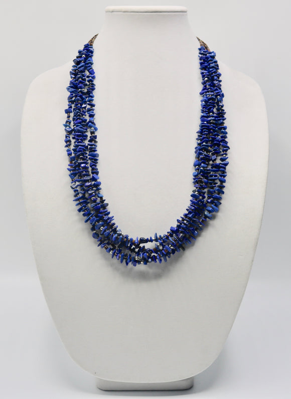 Lapis and Silver Necklace