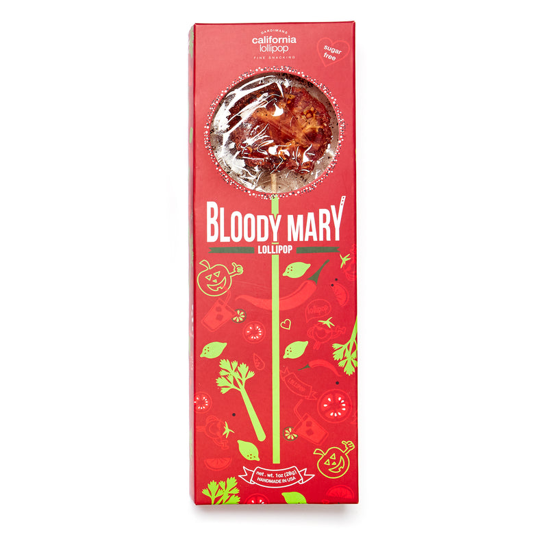 Bloody Mary Lollipops