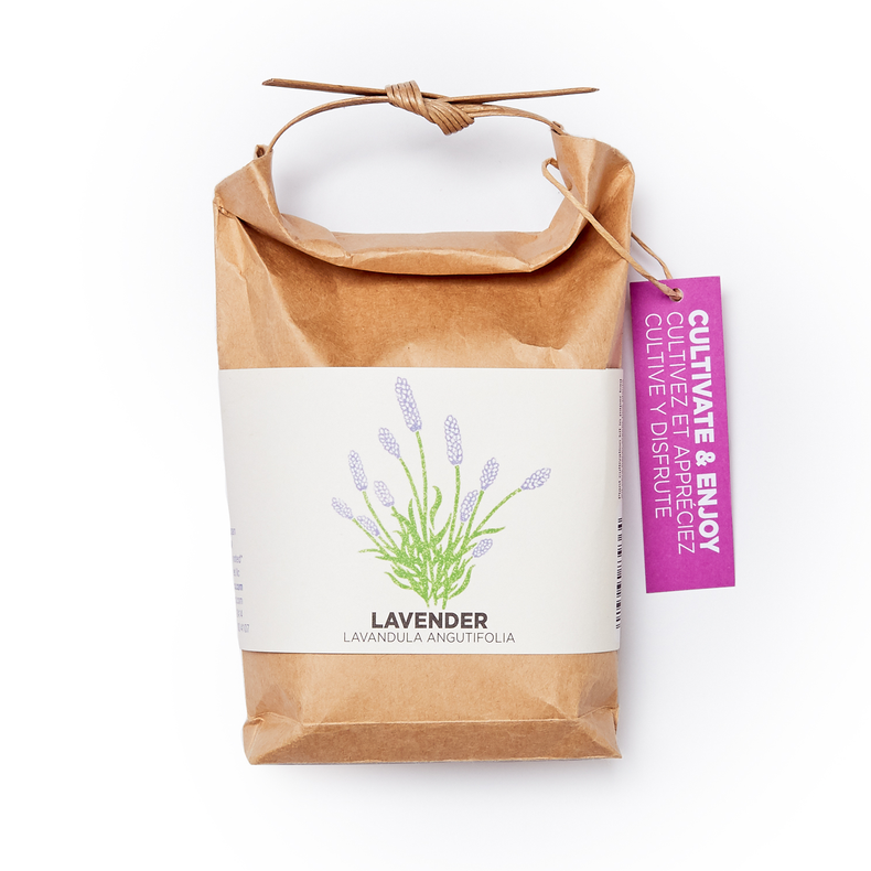 Lavender Growing Kit