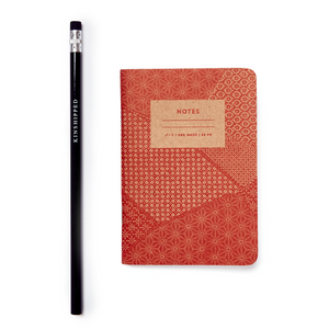 Small Notebook - Red