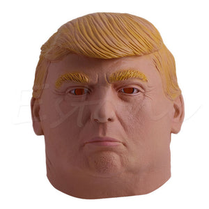 Lifelike Donald Trump Mask Billionaire Presidential New President Mask Costume Latex Cospaly Party Mask For Halloween