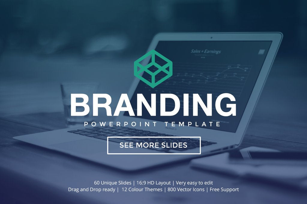 branding powerpoint template this professional - Free Professional Powerpoint Templates