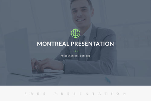 Montreal Free Presentation Template