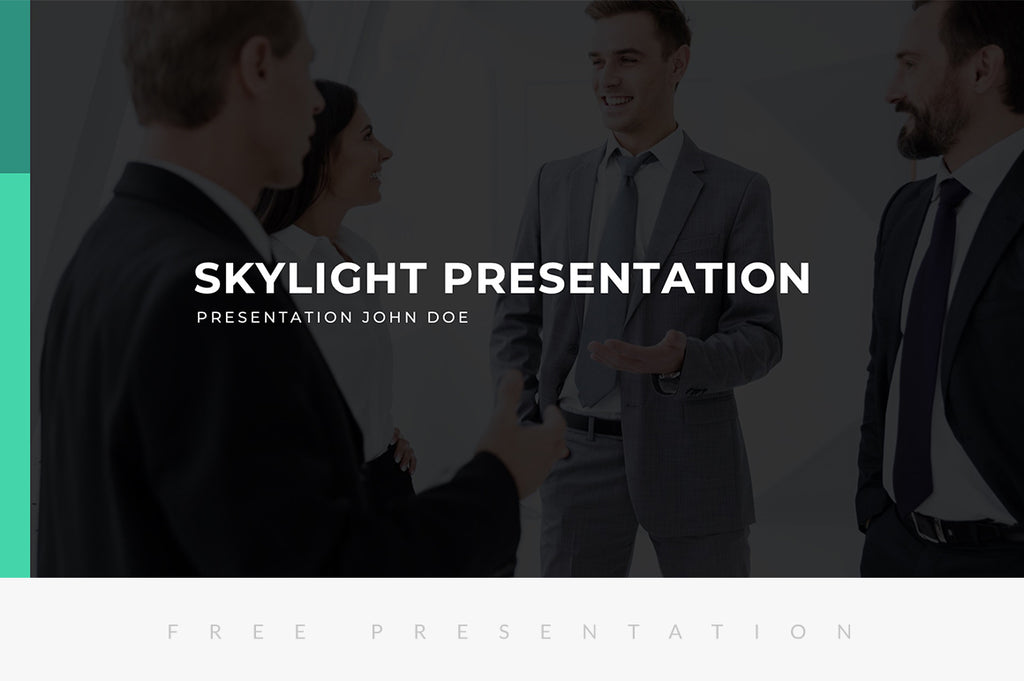 Skylight Free Presentation Template - Presentation Templates on Slideforest