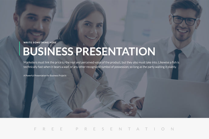 Business Proposal Free Presentation Template - Presentation Templates on Slideforest