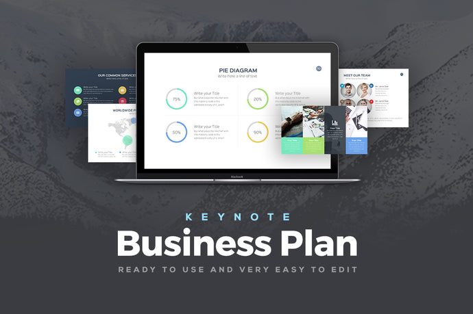 Business Plan Keynote Template - Presentation Templates on Slideforest