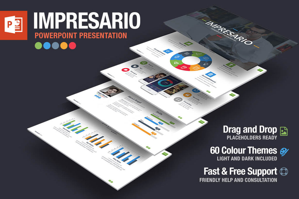 MEGA EMPIRE Powerpoint + Keynote Templates