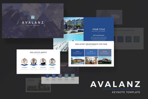 Avalanz Keynote Template