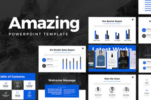 Amazing PowerPoint Template - Presentation Templates on Slideforest