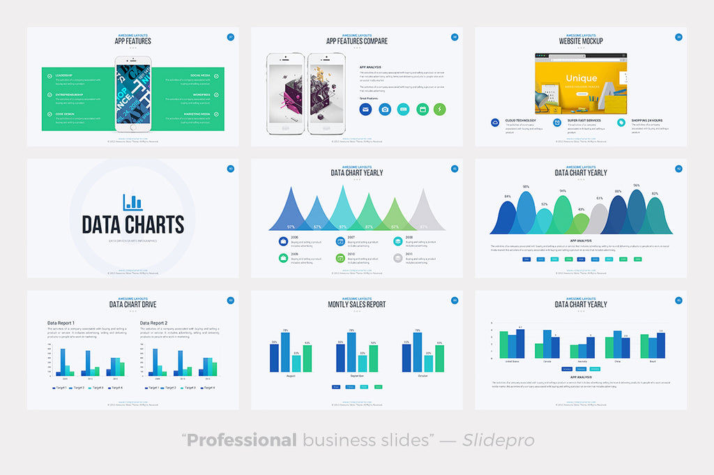 Awesome Keynote Template - Presentation Templates on Slideforest