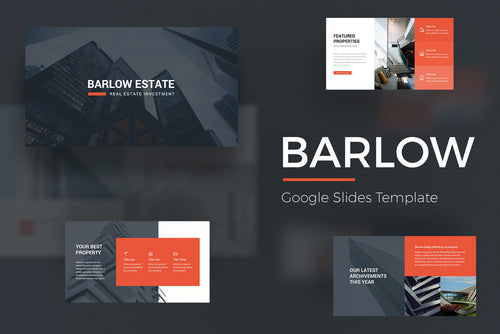 Barlow Google Slides Template