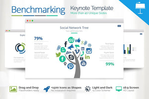 Benchmarking Keynote Template - Presentation Templates on Slideforest