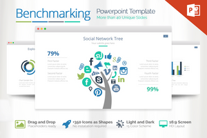 Benchmarking Powerpoint Template - Presentation Templates on Slideforest