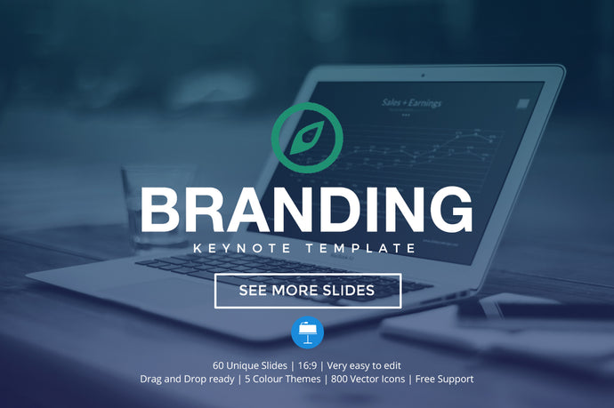 Branding Keynote Template - Presentation Templates on Slideforest
