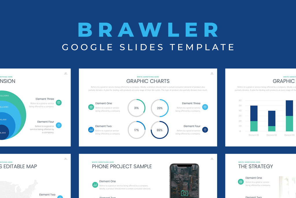 Brawler Google Slides Template