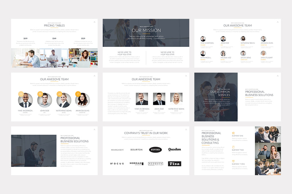 Brisbane Keynote Template - Presentation Templates on Slideforest