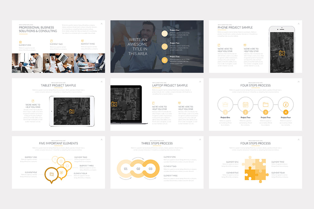 Brisbane PowerPoint Template - Presentation Templates on Slideforest