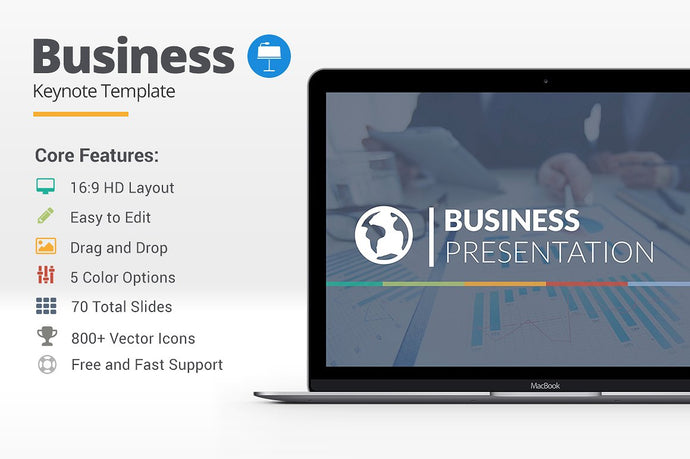 Business Keynote Template - Presentation Templates on Slideforest