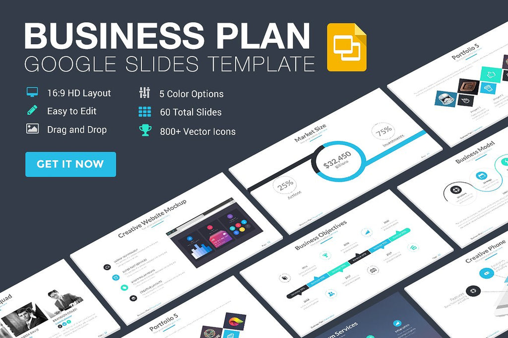 Business Plan Ultimate Google Slides Template
