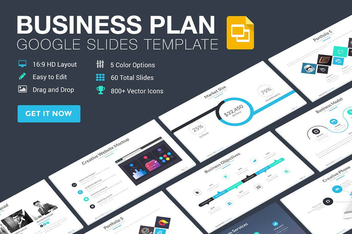 Business Plan Ultimate Google Slides Template - Presentation Templates on Slideforest