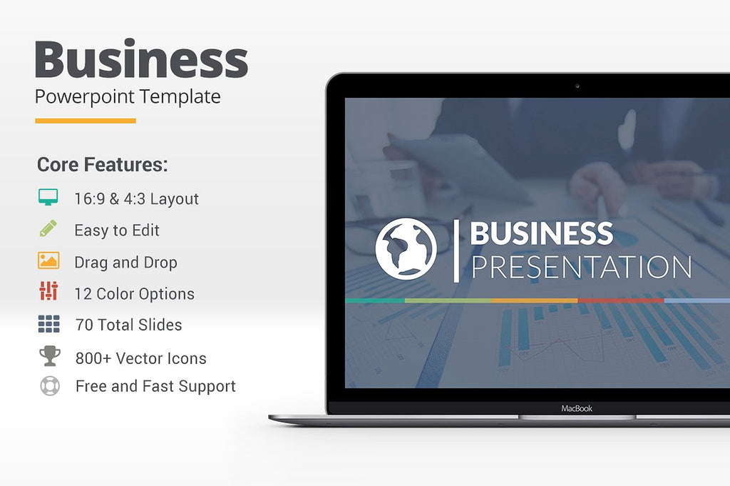 Business Powerpoint Template - Presentation Templates on Slideforest