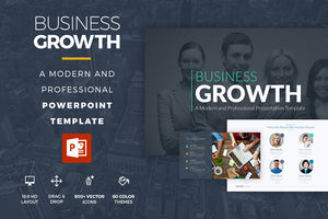 Business Growth Powerpoint Template - Presentation Templates on Slideforest