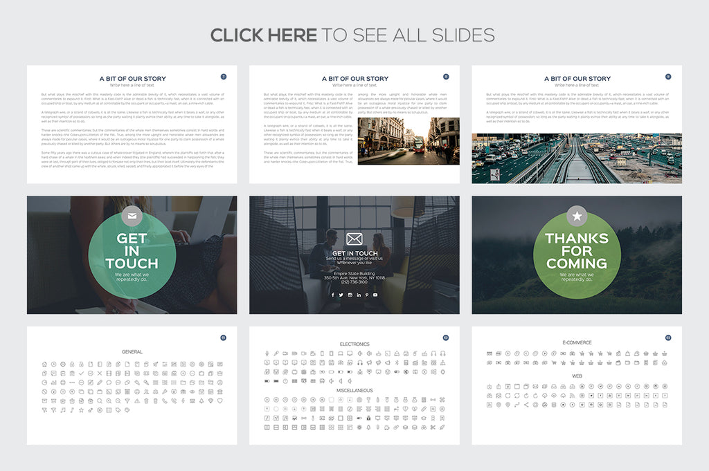 Business Plan Google Slides Template - Presentation Templates on Slideforest