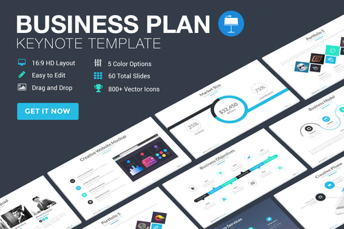 Business Plan Ultimate Keynote Template - Presentation Templates on Slideforest