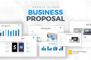 Business Proposal Googles Slides Template - Presentation Templates on Slideforest