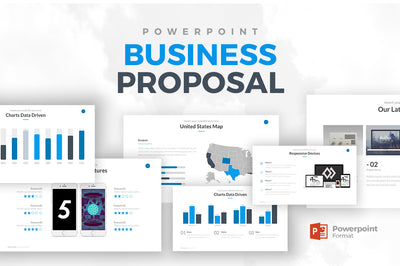 Business Proposal Powerpoint Template - Presentation Templates on Slideforest