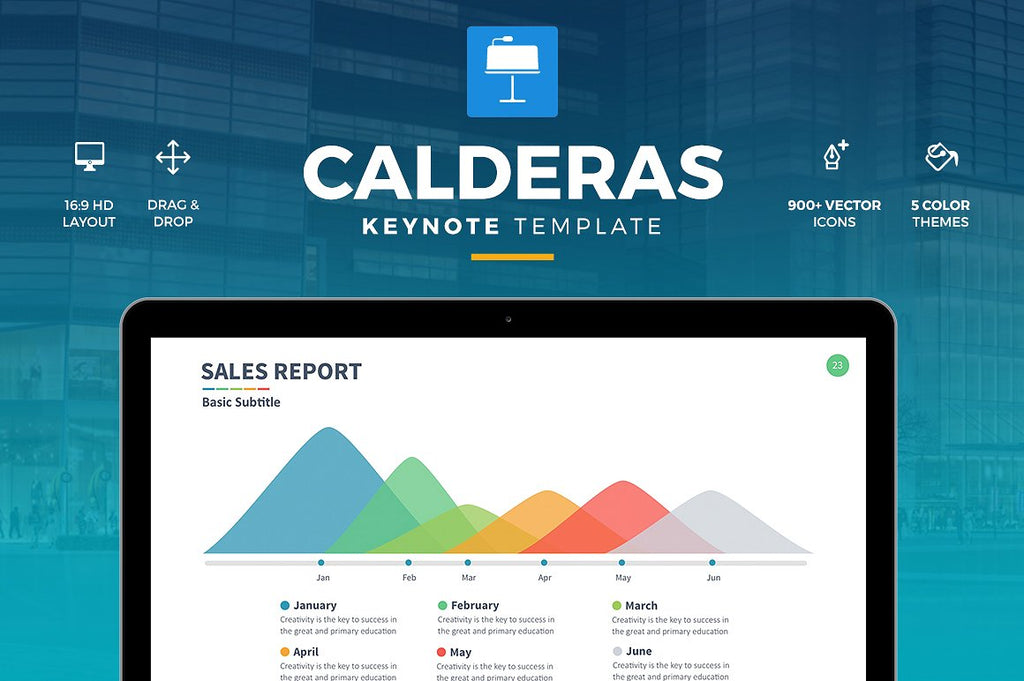 Calderas Keynote Template - Presentation Templates on Slideforest