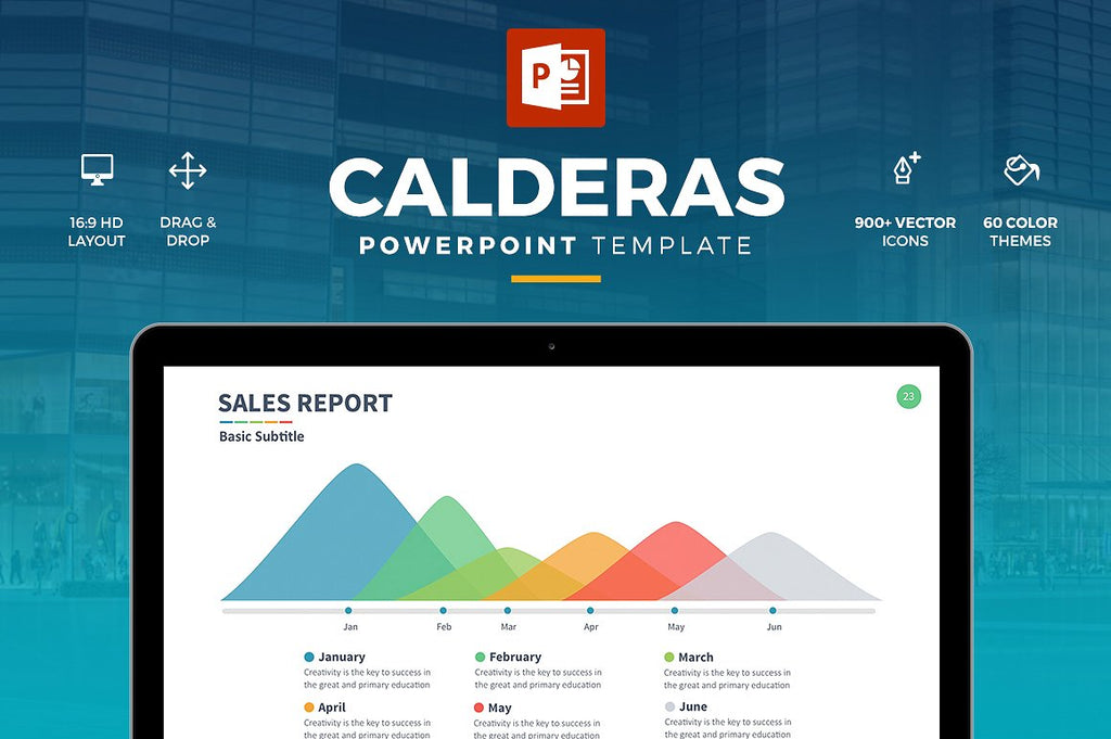 Calderas Powerpoint Template - Presentation Templates on Slideforest