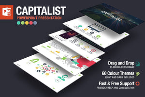 Capitalist Powerpoint Template - Presentation Templates on Slideforest