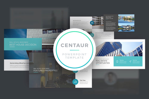 Centaur PowerPoint Template
