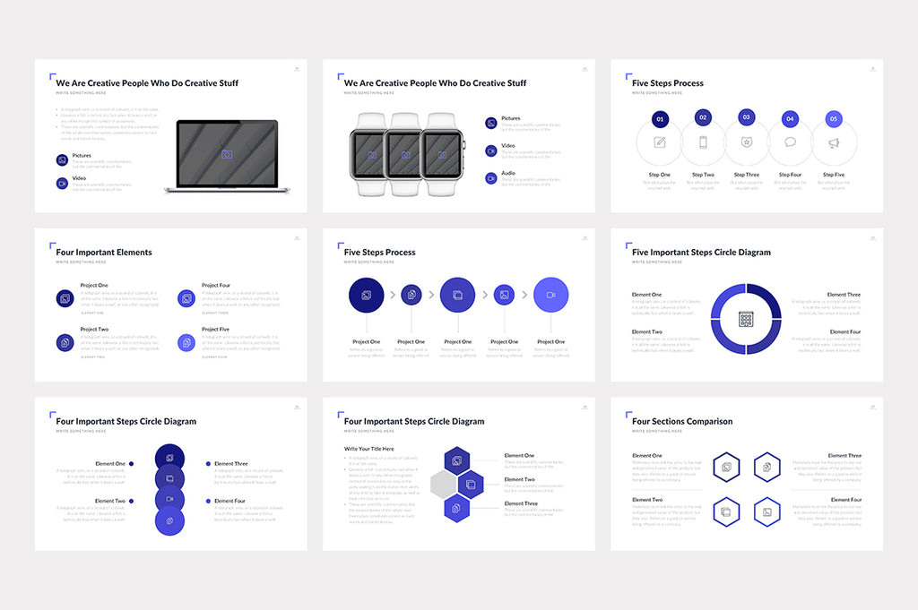 Charlotte PowerPoint Template - Presentation Templates on Slideforest