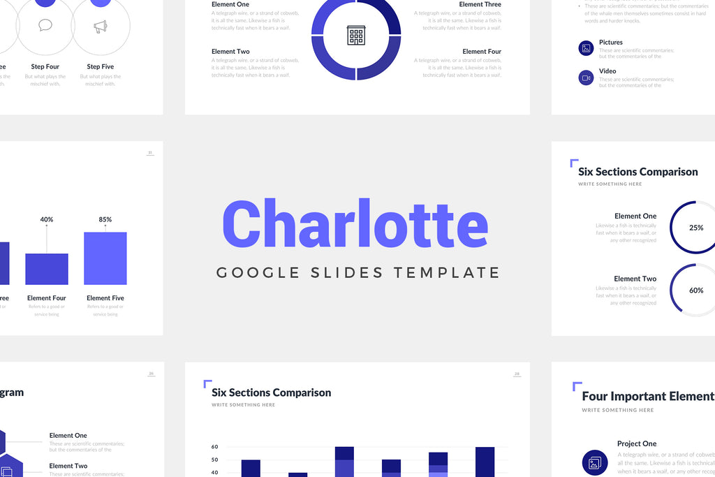 Charlotte Google Slides Template - Presentation Templates on Slideforest