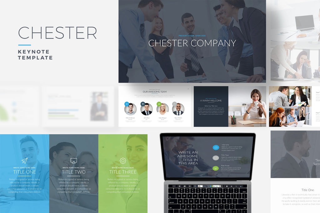 Chester Keynote Template