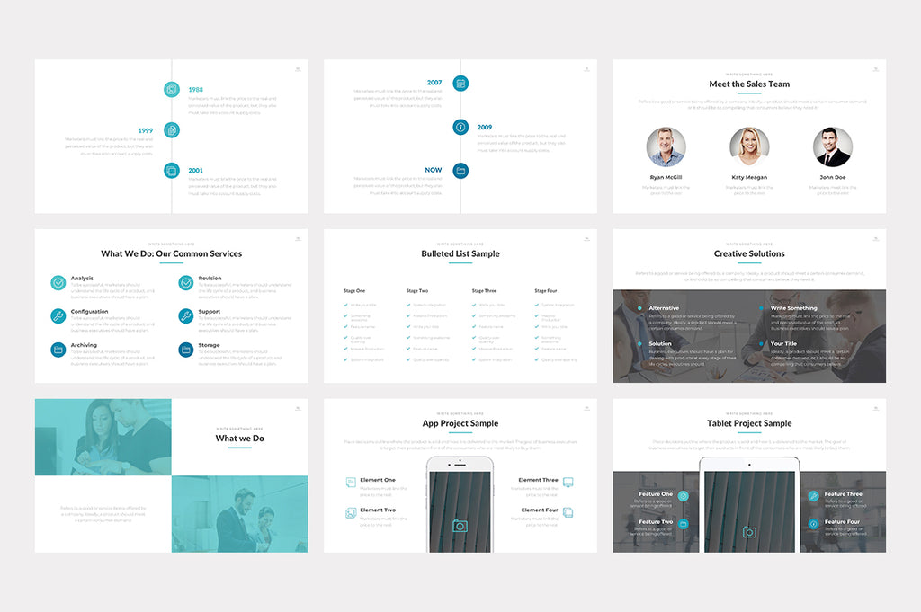 Cleveland Keynote Template - Presentation Templates on Slideforest
