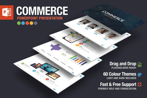 Commerce Powerpoint Template - Presentation Templates on Slideforest