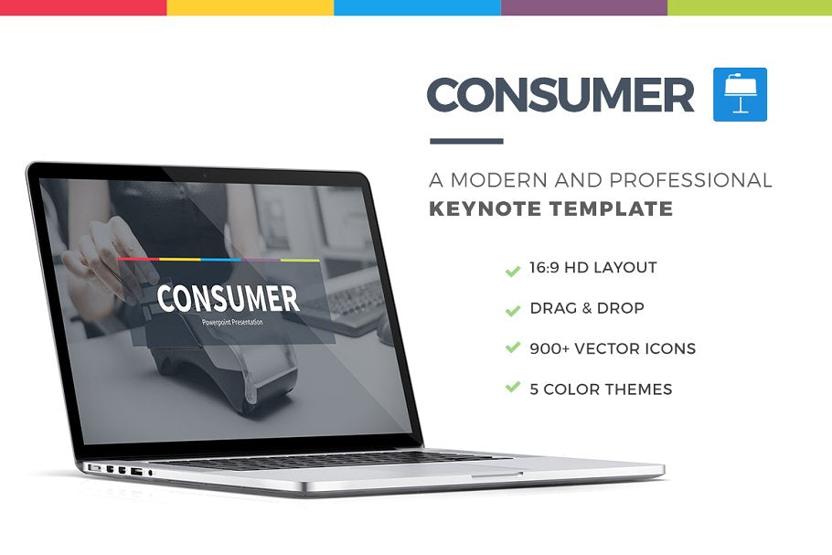 Consumer Keynote Template - Presentation Templates on Slideforest