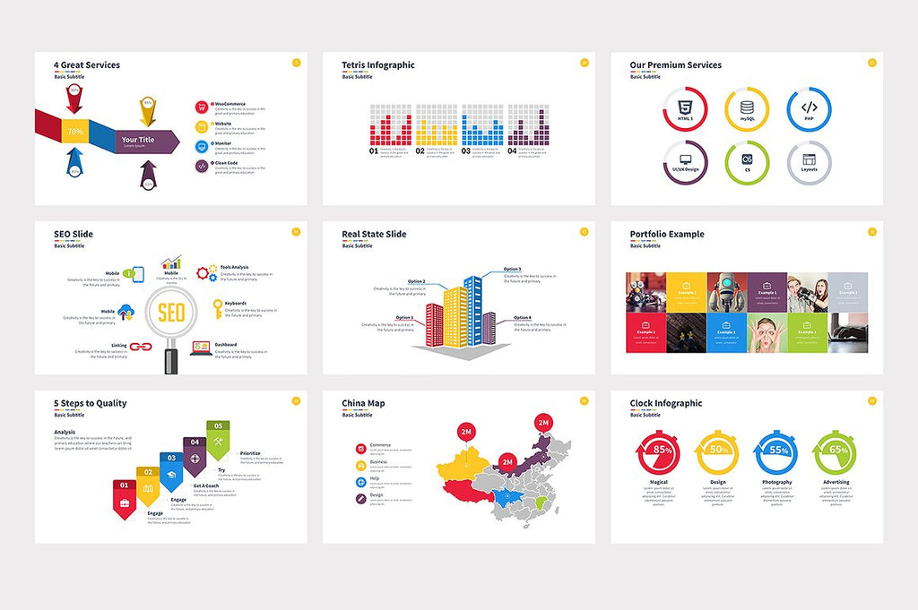 Consumer Powerpoint Template - Presentation Templates on Slideforest