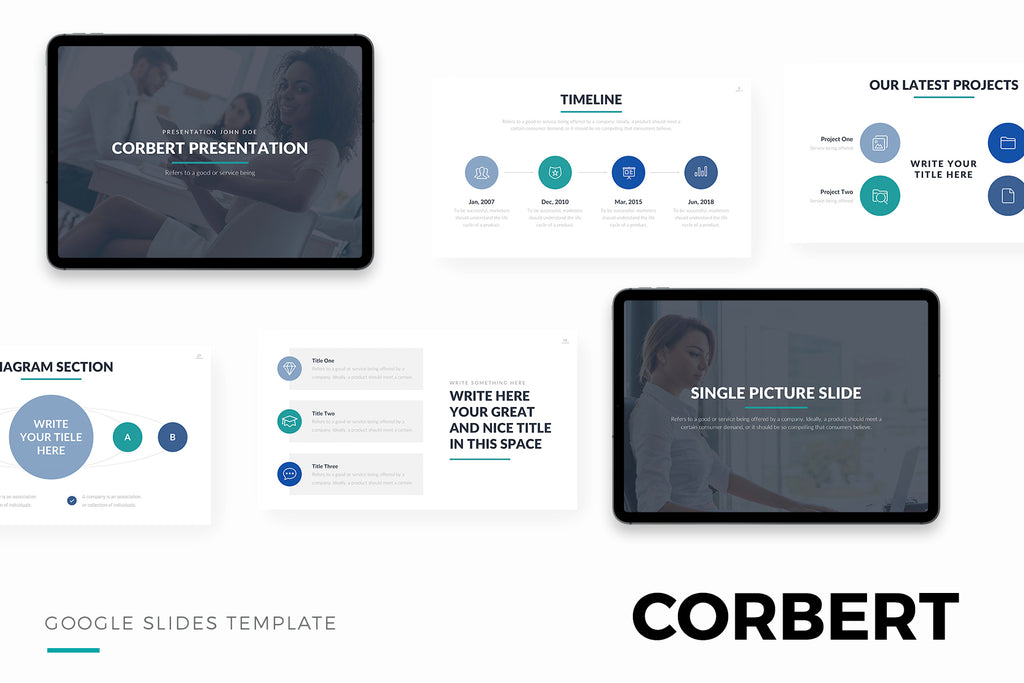 Corbert Google Slides Template