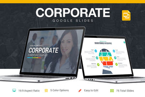 Corporate Google Slides Template - Presentation Templates on Slideforest