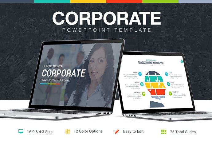 Corporate Keynote Template - Presentation Templates on Slideforest