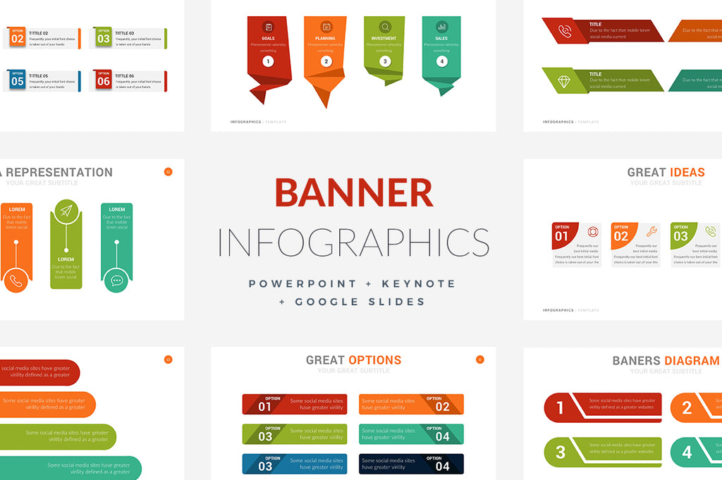 infographics for powerpoint keynote and google slides