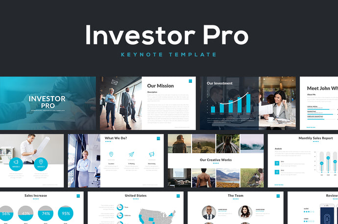 Investor Pro Keynote Template - Presentation Templates on Slideforest
