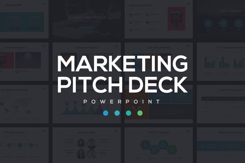 Marketing Pitch Deck PowerPoint Template - Presentation Templates on Slideforest