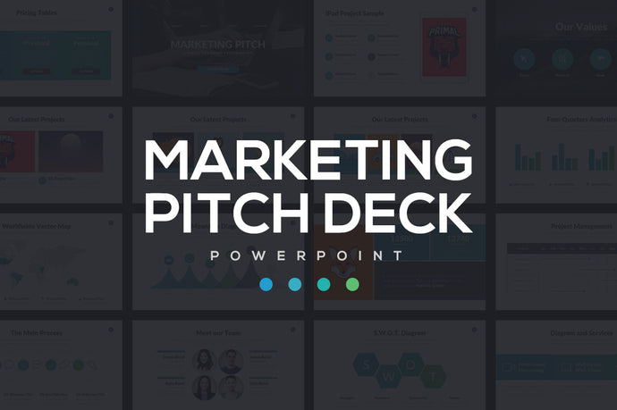 Marketing Pitch Deck - Presentation Templates on Slideforest