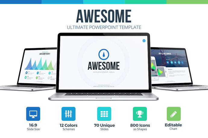 Awesome Powerpoint Template - Presentation Templates on Slideforest